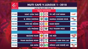 Vòng 12 V.League