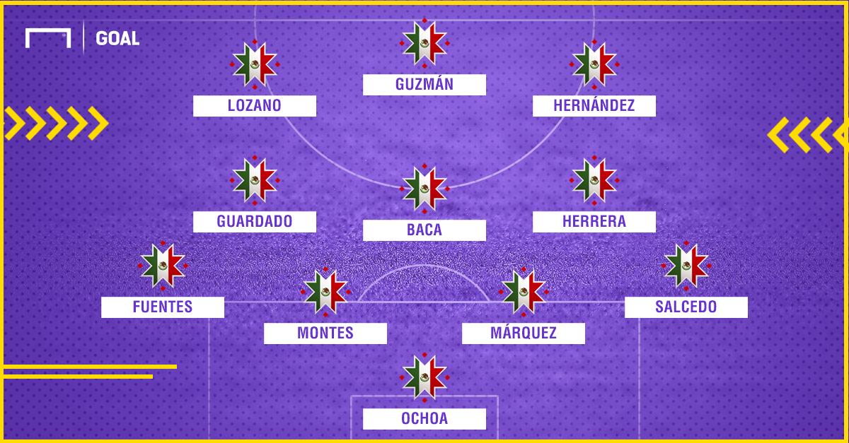 XI de México con cambios de la Liga MX