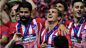 Diego Costa Griezmann Atlético de Madrid Real Madrid Supercopa UEFA 15 08 2018