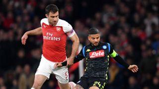 Sokratis Lorenzo Insigne Arsenal Napoli