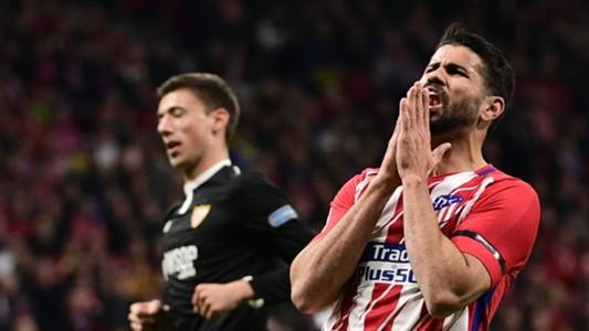 Diego Costa Atletico Sevilla Copa del Rey
