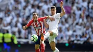 Juanfran Marco Asensio Real Madrid Atletico LaLiga
