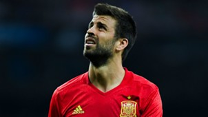 Gerard Pique Spain Italy WC Qualifiers