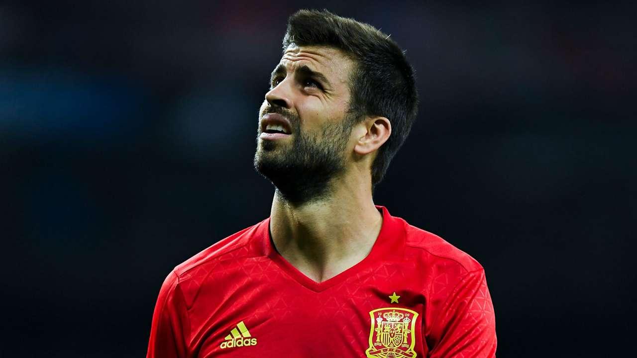 Gerard Pique Spain Italy WC Qualifiers