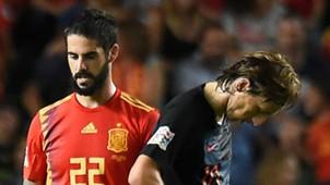 Isco Luka Modric Spain Croatia 2018-19