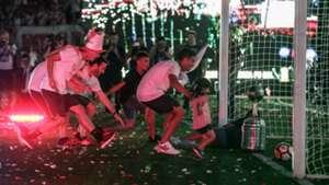 Gonzalo Pity Martinez River Celebrates Copa Libertadores 23122018