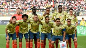 Nómina Colombia - Perú Amistoso 2019