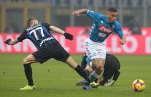 Brozovic Allan Inter Napoli Serie A
