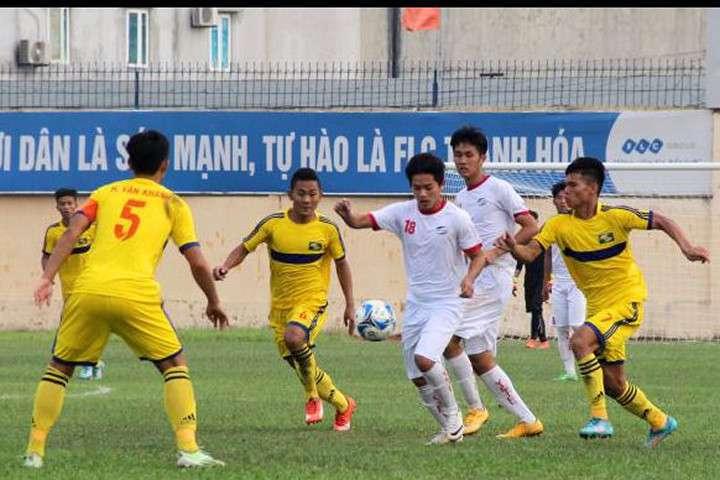 U21 SLNA Vòng loại U21 Quốc gia 2017
