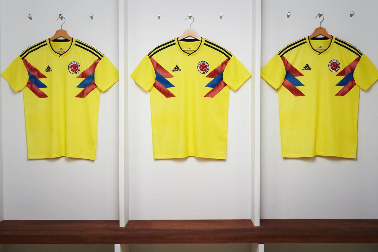camiseta Colombia Rusia 2018