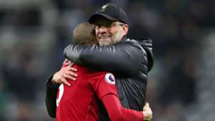 Jurgen Klopp Fabinho Liverpool Newcastle Premier League 2019