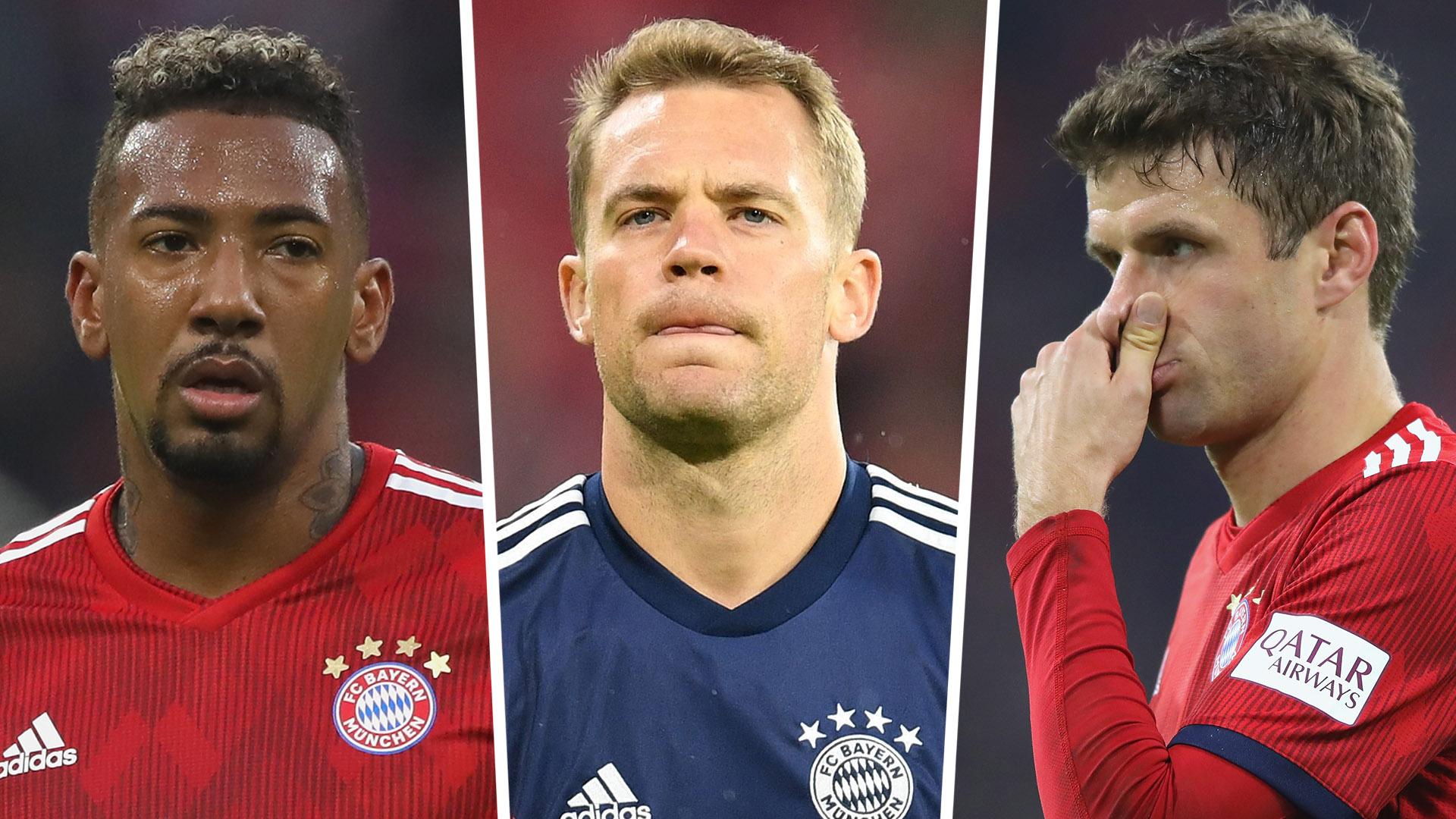 Boaten Neuer Muller Bayern Munich