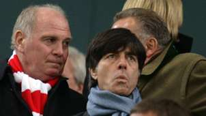 Joachim Jogi L?w Uli Hoene? Bayern Munich Gladbach 041214
