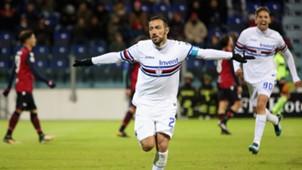 Fabio Quagliarella Cagliari Sampdoria
