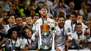 Real Madrid 2016 Champions League winners
