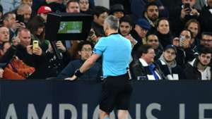 Bjorn Kuipers, Tottenham vs Man City, UCL 2018-19