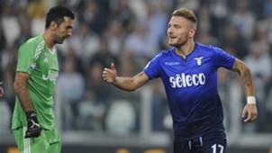 Ciro Immobile Gigi Buffon Juventus Lazio