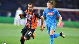 Ismaily Zielinski Shakhtar Napoli Champions League