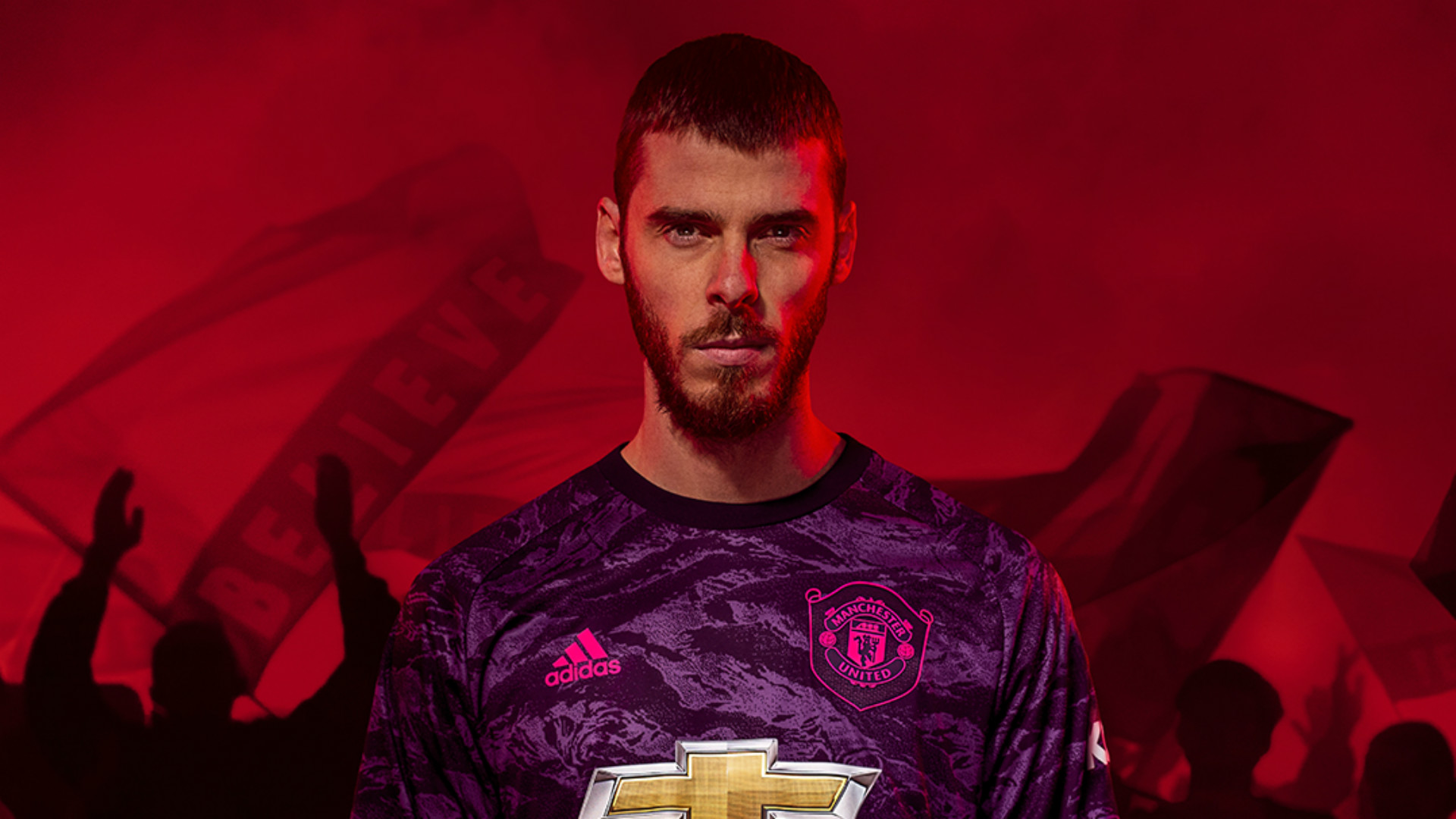 competitive price 21608 c5afa New Man Utd kit: Paul Pogba and David de Gea feature as Red ...