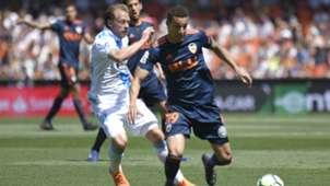 Krohn Dehli Rodrigo Moreno Valencia Deportivo Coruna LaLiga