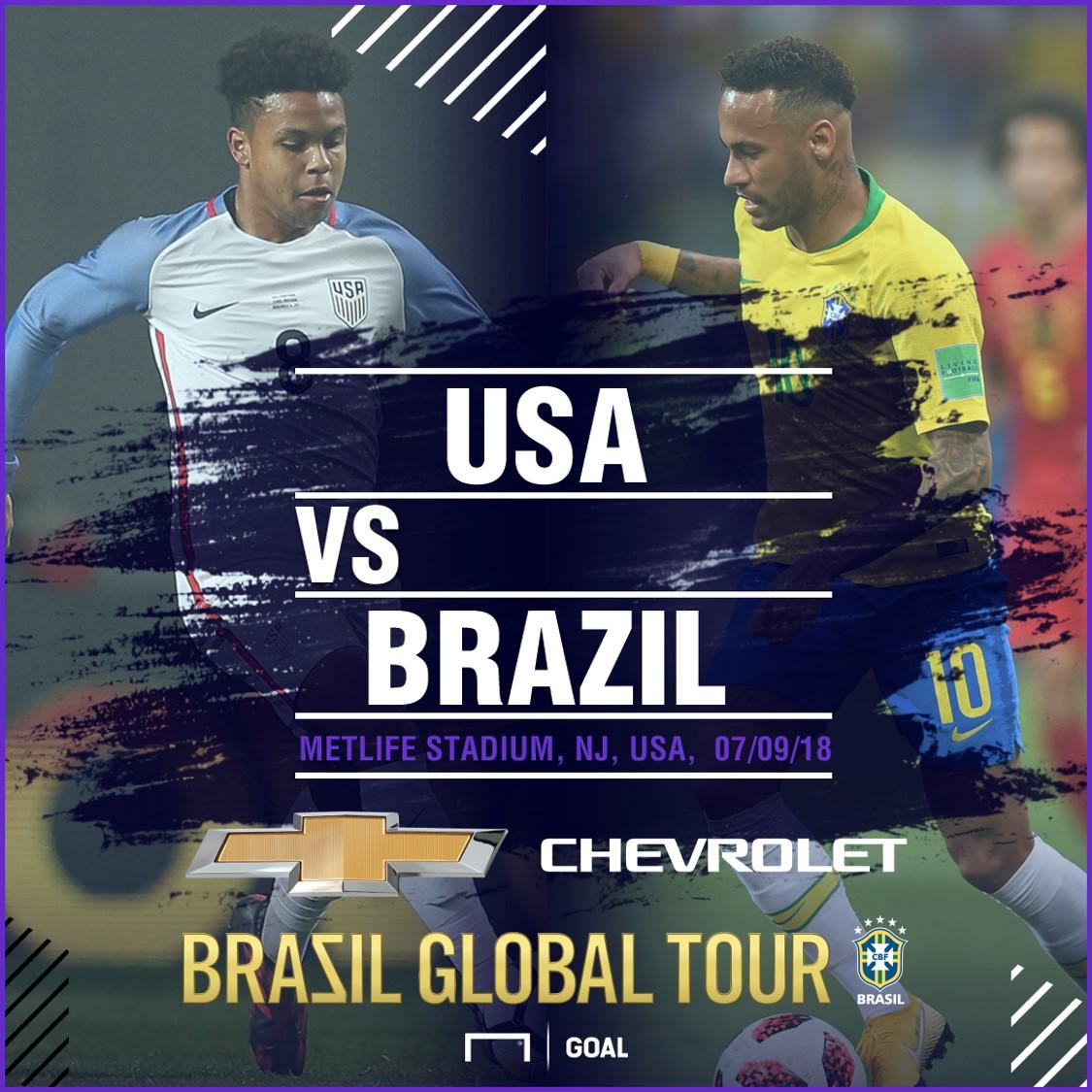 USA x Brasil 04092018