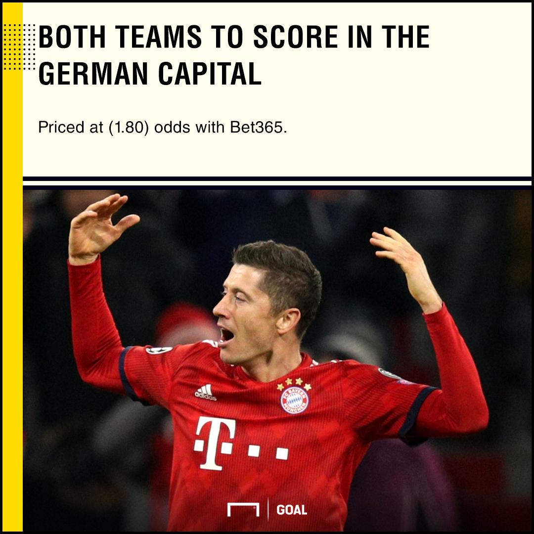 Hertha Berlin Bayern Munich PS