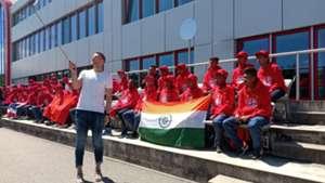 Manuel Neuer Team India FC Bayern Munich Youth Cup 2019