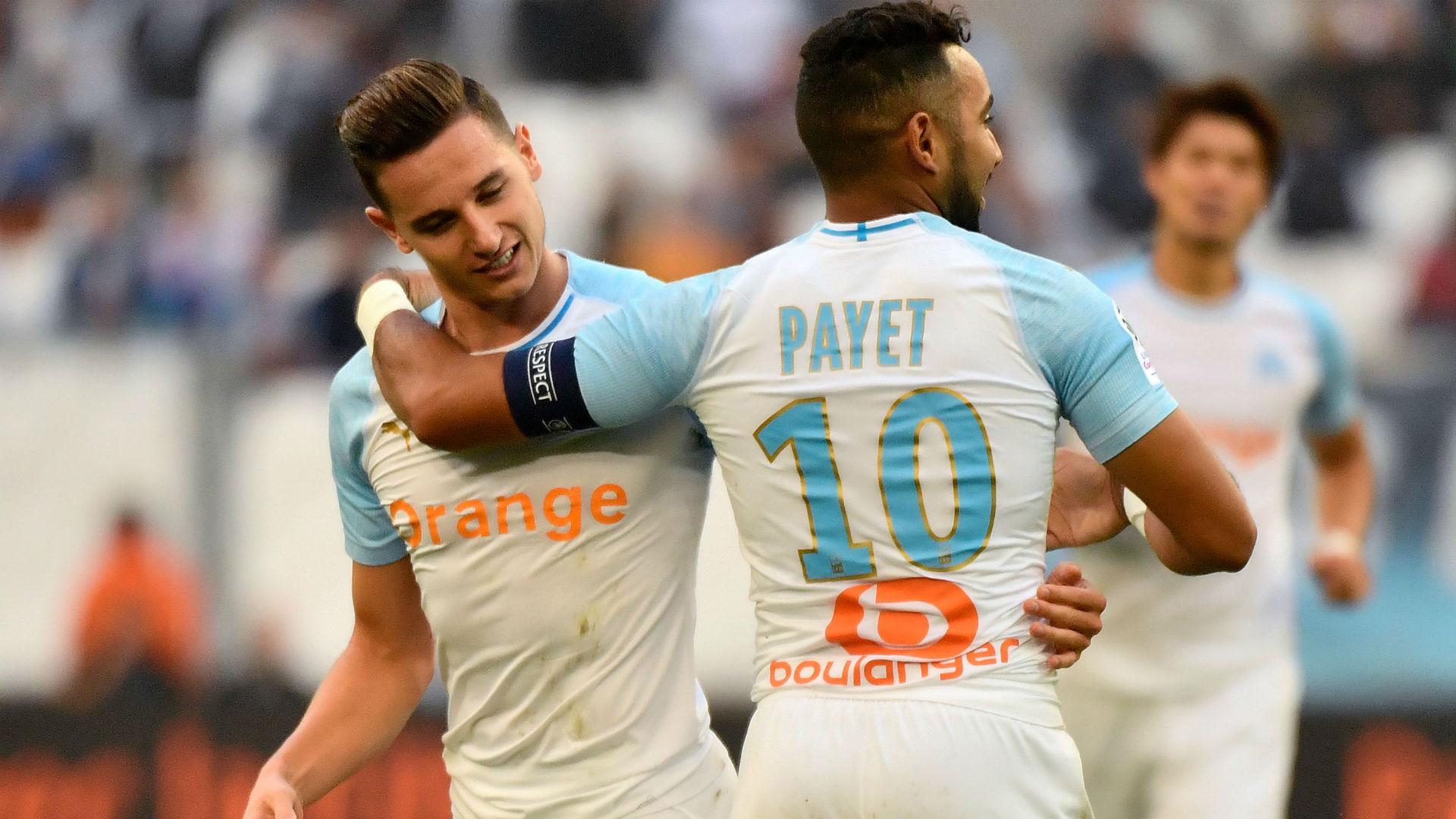 Florian Thauvin Dimitri Payet Marseille Caen Ligue 1 07102018