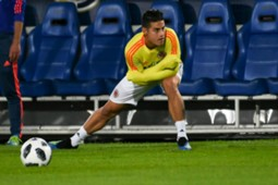 James Rodriguez training Colombia 2018