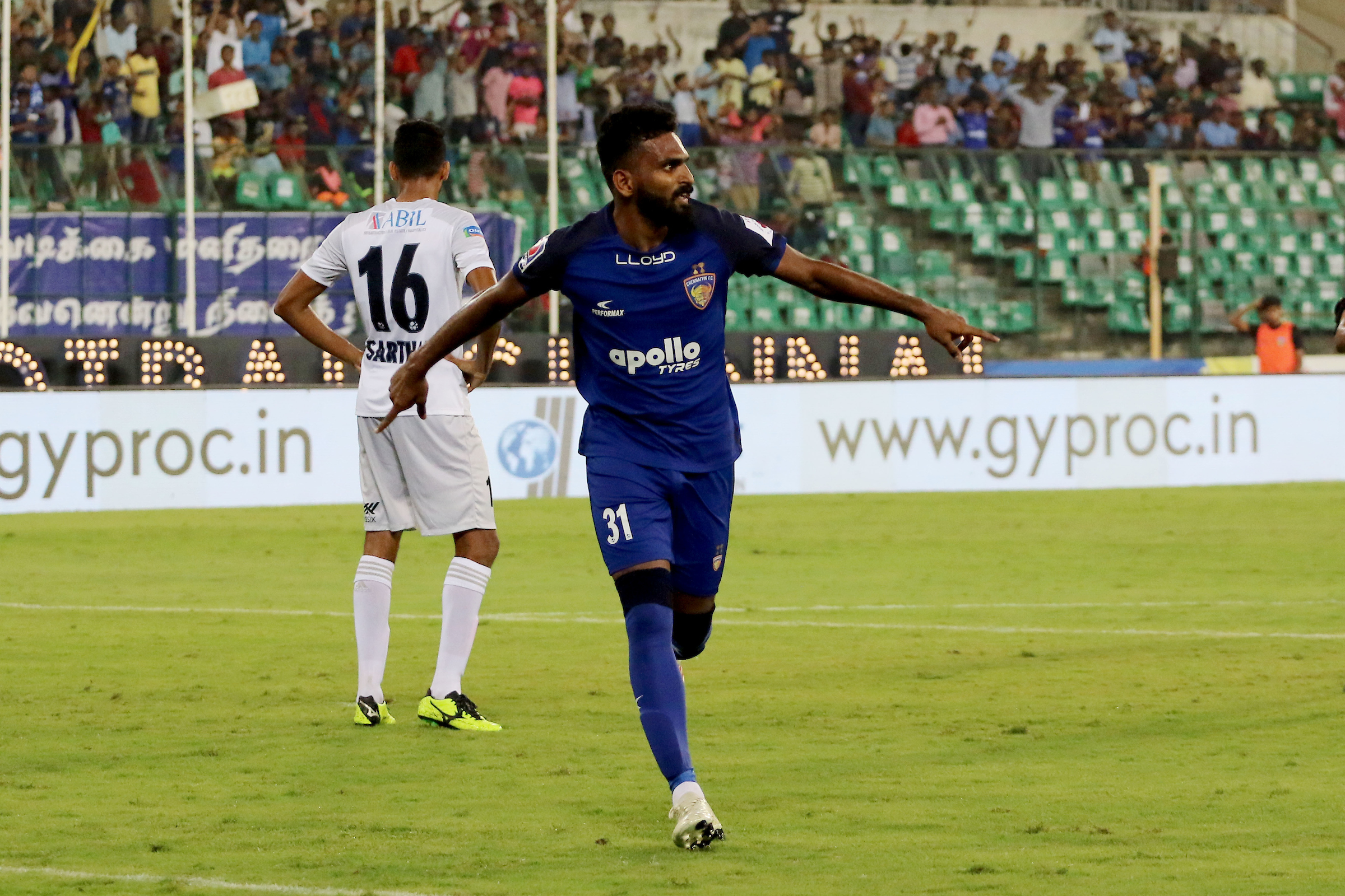 CK Vineeth Chennaiyin Pune City