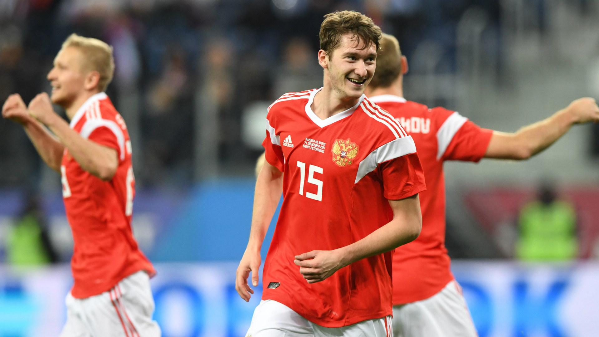 miranchuk Spain Russia Friendly