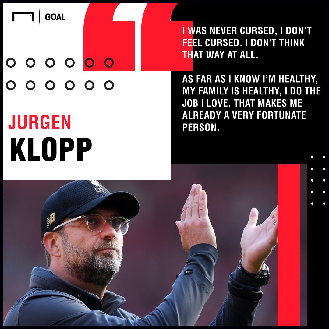 GFX Jurgen Klopp Liverpool curse