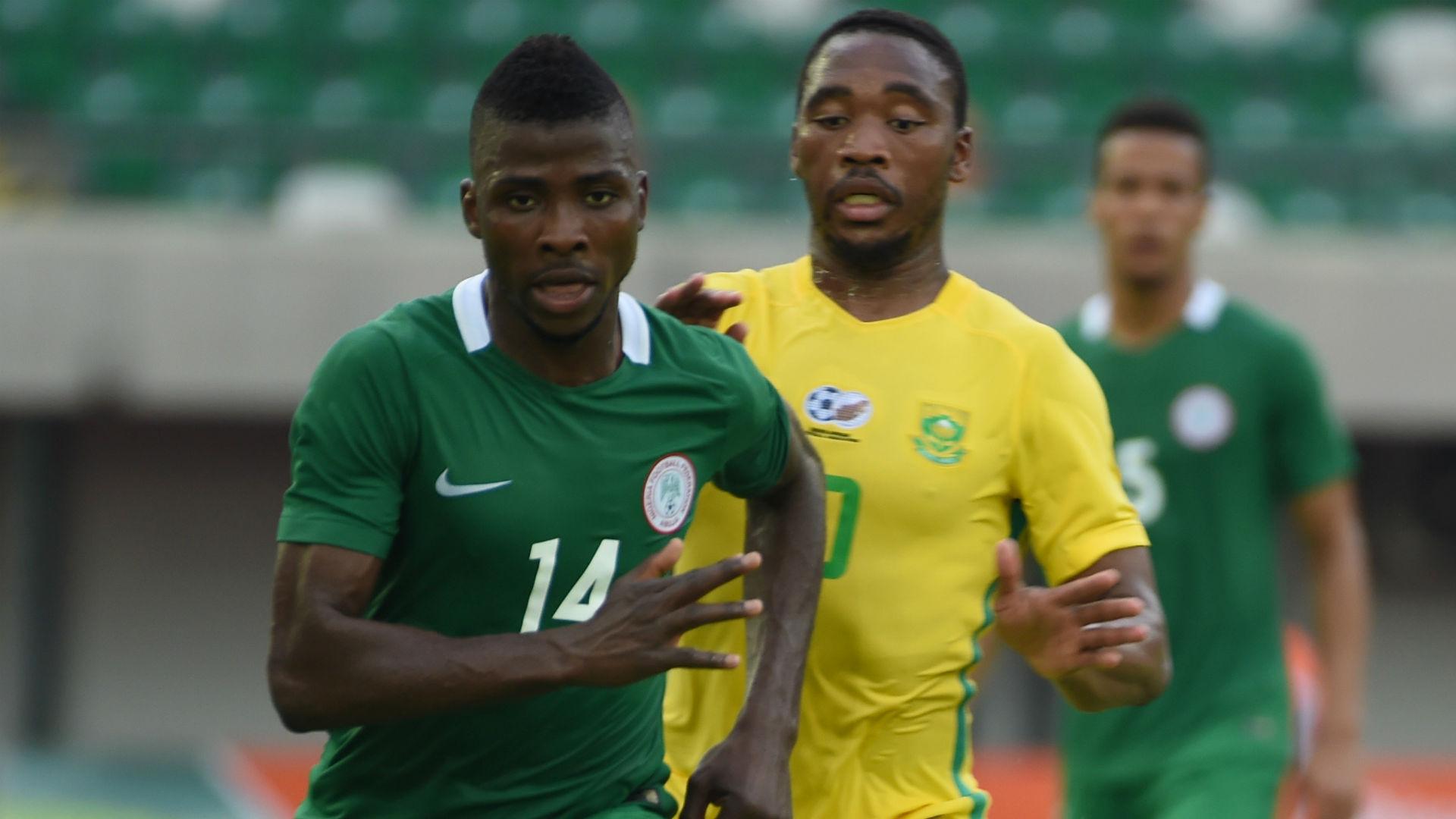 Iheanacho and Sibusiso Vilakazi