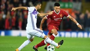 Liverpool Maribor Champions League Oxlade-Chamberlain 01112017