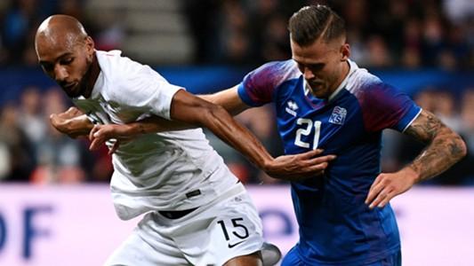 Steven N'Zonzi Arnaur Traustason France Iceland Friendly 11102018