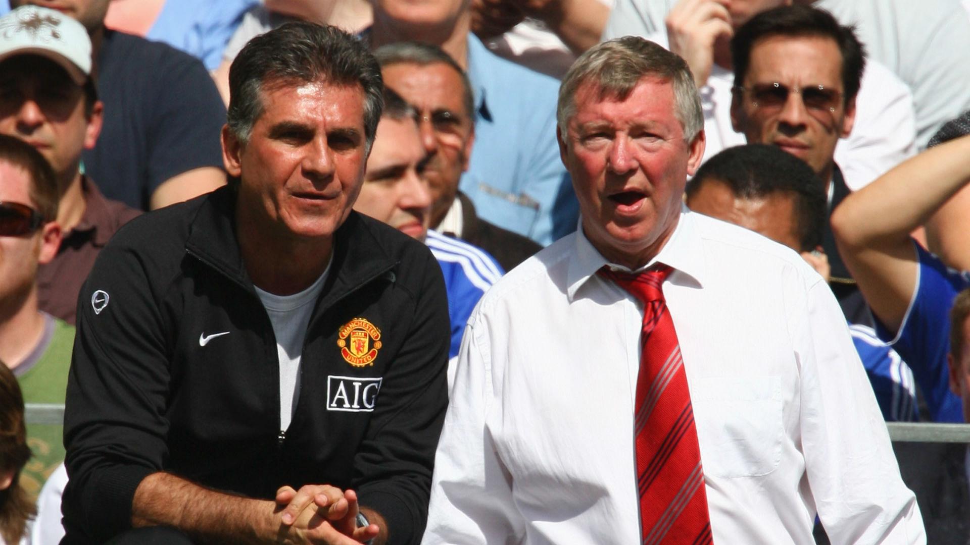 Carlos Queiroz Alex Ferguson Manchester United 18 06 2018