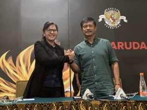Ratu Tisha & Indra Sjafri - Indonesia U-22