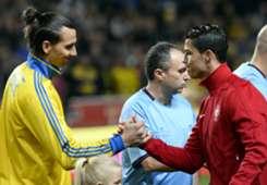 HP Zlatan Ibrahimovic Cristiano Ronaldo 2013