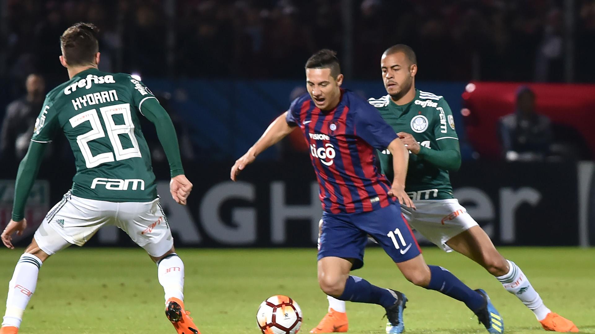 Mayke Oscar Ruiz Cerro Porteno Palmeiras Libertadores 09082018