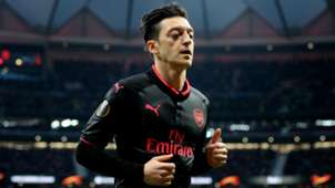 Mesut Ozil Arsenal Atletico Madrid Europa League