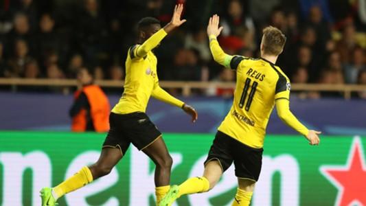 Ousmane Dembele Marco Reus Monaco Dortmund Champions League 19042017