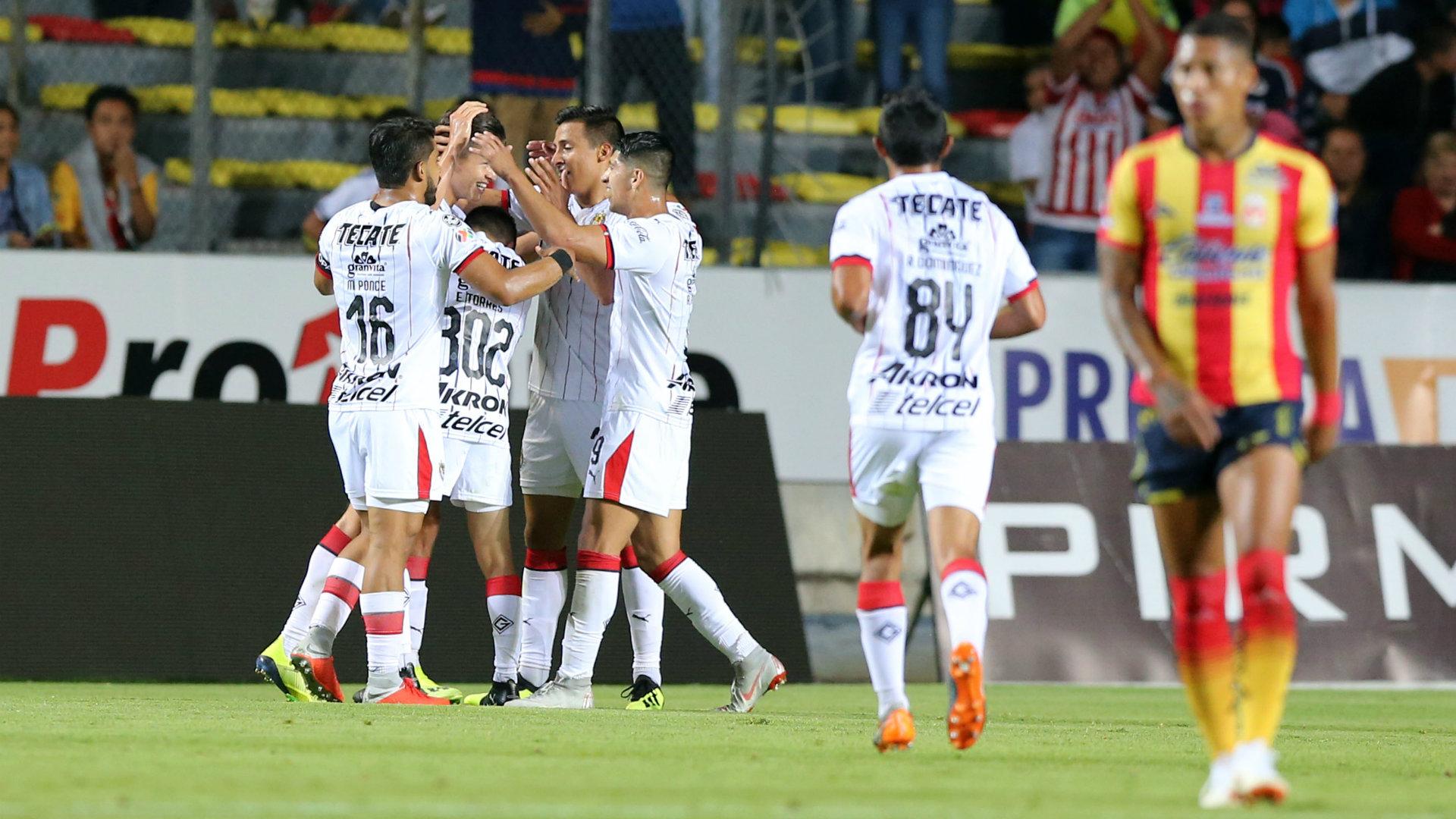Chivas vs Morelia Copa MX Apertura 2018