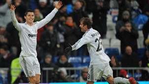Cristiano Ronaldo Rafael van der Vaart Real Madrid