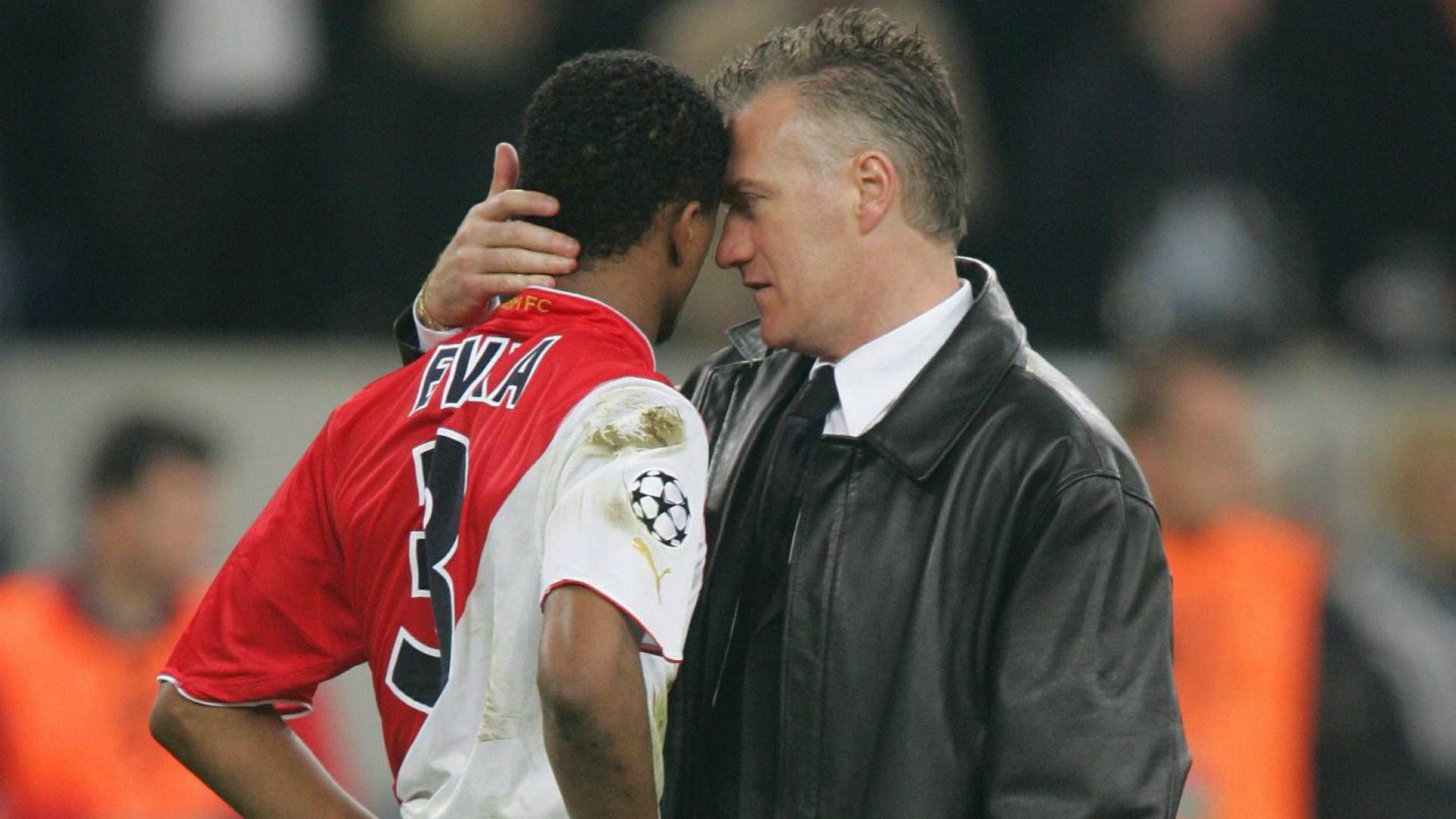 Patrice Evra Didier Deschamps Monaco Porto 26052004