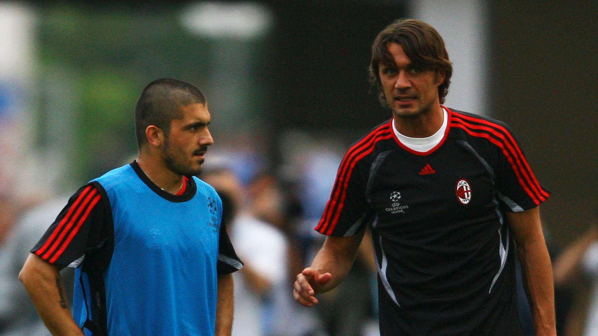 Paolo Maldini Gennaro AC Milan