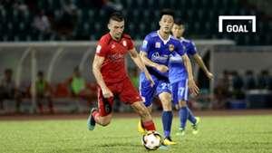 CLB TP.HCM Quảng Nam Vòng 10 V.League 2018