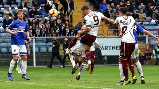 Belotti goal Sampdoria Torino