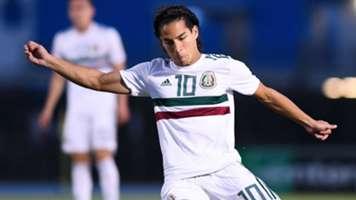 Diego Lainez Selección mexicana 191118