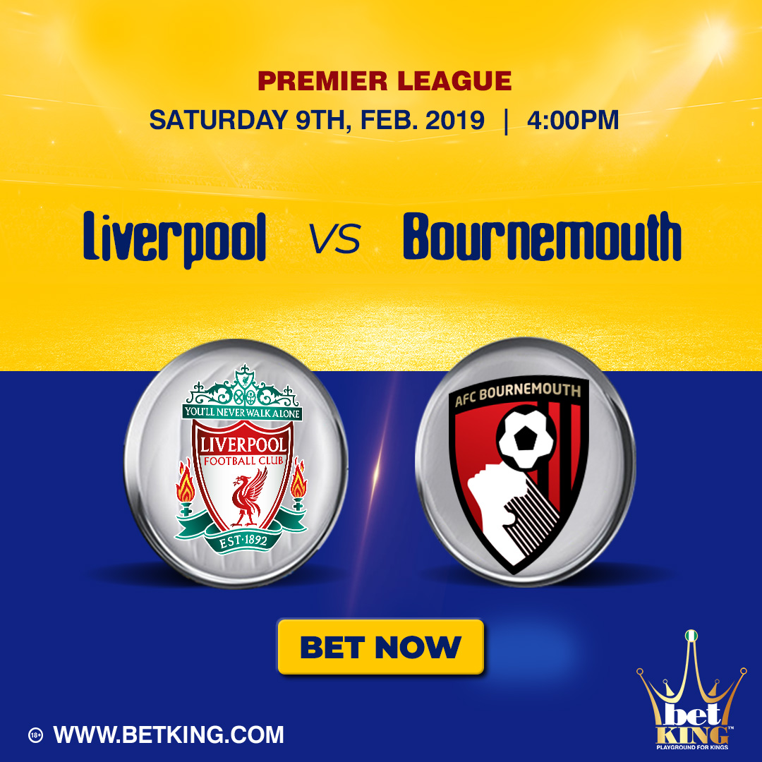 Betking Liverpool Bournemouth