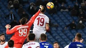 Bonucci Lazio Milan Italian Cup